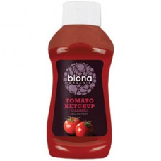 Biona / Tomato Ketchup - Squeezy Bottle 560g