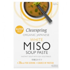 Clearspring / Miso Soup Paste Instant - White with Sea Vegetable 15g