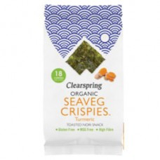 Clearspring / Multi-Pack Seaveg Crispies Turmeric - Toasted Nori Snack (3x4 gr.)
