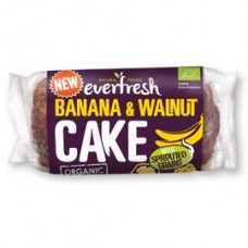Everfresh Natural Foods / Banana and Walnut Cake with Sprouted Grain 400g