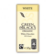 Green & Black's / White Chocolate 35gr