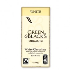 Green & Black's / White Chocolate 90gr