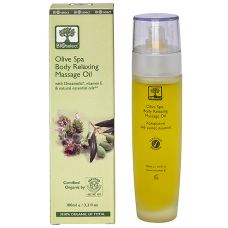 Bioselect OLIVE SPA BODY RELAXING MASSAGE OIL (100ML)
