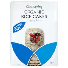 Clearspring / Rice Cakes - Lightly Salted 130g