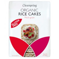 Clearspring / Rice Cakes - Multi Grain 130g