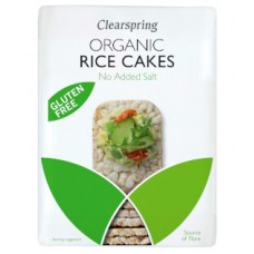 Clearspring / Rice Cakes - No Added Salt 130g