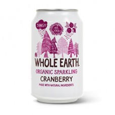 Whole Earth / Mountain Cranberry Juice - Sparkling 330ml