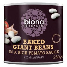 Biona / Baked Giant Beans in Tomato Sauce 230g
