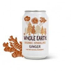 Whole Earth-Ginger Organic sparkling drink 330ml