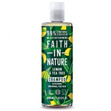 Faith in Nature / Shampoo - Lemon & Tea Tree Anti-Dandruff 400ml